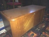 brown wooden drop leaf table Stony Plain, T7Z 1A4