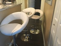 white and gray leather padded salon chair Surrey, V4A 9Y9