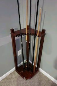 Pool stick stands  Frederick