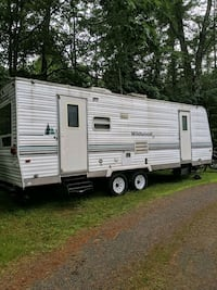 All year round Trailer home. ready for the winter