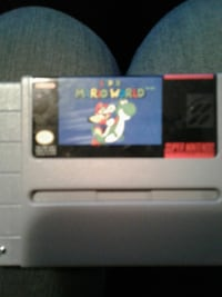 Super Mario world SNES Surrey, V3S 5Y2