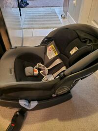 Car seat and adapter