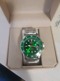 Gestion Luxury, mens, cristal dual, Watch  Montreal, H1M 2Y7