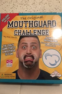 Mouthguard Challenge sealed