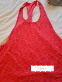 red and white tank top LaSalle