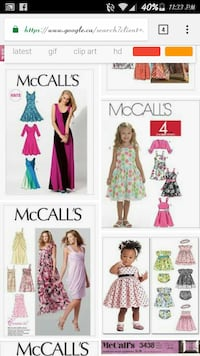 McCall's templates