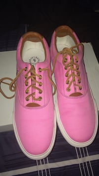 pair of pink-and-brown Ralph Lauren low-top sneakers Conway, 72032