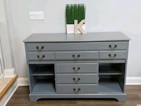 Solid Wood Gorgeous Buffet in grey color 54x20x36 Montville