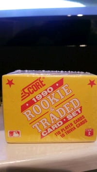 Score 1990 rookie and trade card set Mississauga, L5L