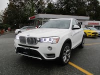 2015 BMW X3 xDrive28i NAV & PANO ROOF langley, v3a1n2