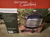 Brand New 28 in Portable Fire Pit Papillion, 68046