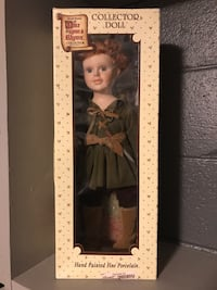 Brenda thomas once upon a rhyme collection doll peter pan