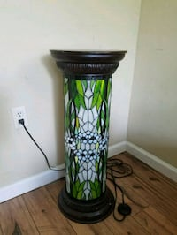 black and green table lamp Moss Point, 39562