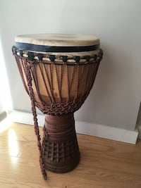 Beautiful Large West African Djembe