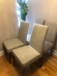 Dining chairs-80$ PER CHAIR