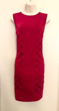 NWOT Laundry by Design red dress with geometric cut outs on the sides Las Vegas, 89135