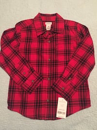 red and black plaid dress shirt Dallas, 75232