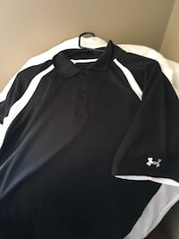 black and white Under armour golf shirt size x-large Pickering, L1V 1E3