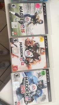 PS3 Madden NFL 16 game case Lakewood Ranch, 34202