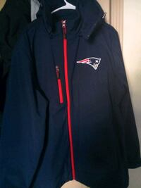 Patriots hoodie jacket  2x make me an offer