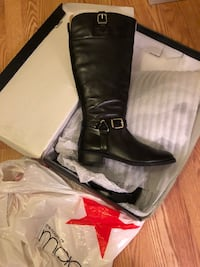 Black INC macys boots size 9 New York, 11221