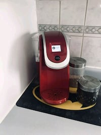 red and gray Keurig coffeemaker Edmonton, T5P 1T3
