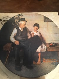 Norman Rockwell lLighthouse keepers daughter plate