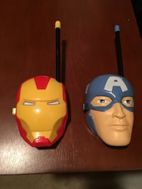 Iron man and captain america 2-way radio Chesapeake, 23321