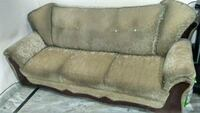 brown fabric 3-seat sofa Gurugram, 122001