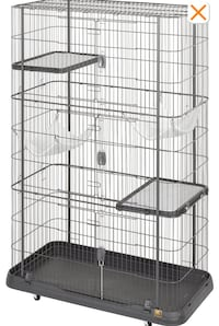 Pet Cage w/ Two Shelves