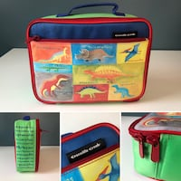 Dinosaur Themed Toy Tote / Lunch Box / Coloring Supply Box Warren, 48093