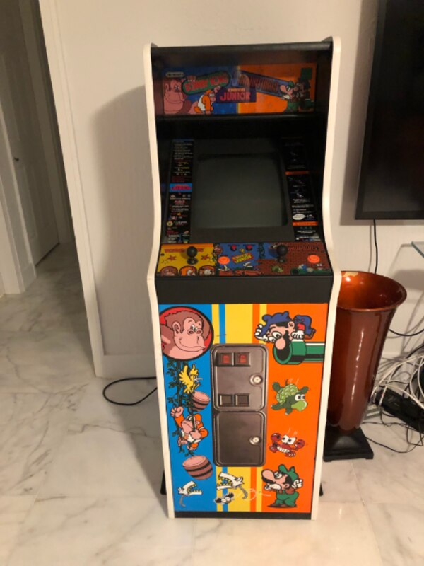 Used Mario Brother Donkey Kong Jr Arcade Machine For Sale In