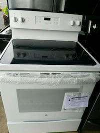 white and black induction range oven new Temple Hills, 20748