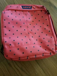 red and black polka dot leather crossbody bag Sunnyvale, 94089