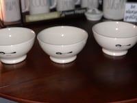 Rae Dunn Bowls. (3) selling together  Clayton, 19938