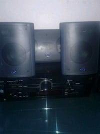 Panasonic surround sound recirver and cv speakers Edmonton, T5H 0M9