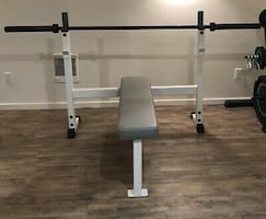 TuffStuff competition weight bench press