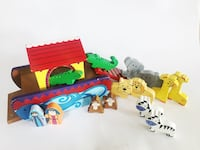 Noah's Ark by Orange Tree Toys Gently Used Solid Wood Vancouver, V5K 3C9