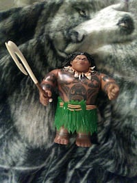 Action figure from the Disney channel movie it's a Maui action figure