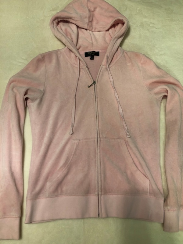 Used Juicy Couture Hoodie Pink for sale in Laval - letgo 4d1c06ed79fa
