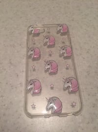 Clear and pink unicorn iphone 6 case Saint-Lin-Laurentides, J5M