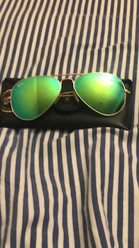 Ray bans aviator flash lenses 62mm Culver City, 90230