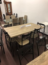 Black and Brown Dining Room Table Set  Houston, 77076