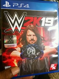 WWE 2K17 PS4 game case Rochester, 14608
