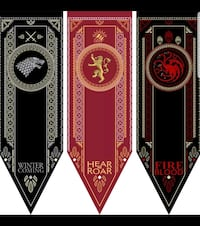 Game of Thrones Style Banners  New Hamburg, N3A 1T6