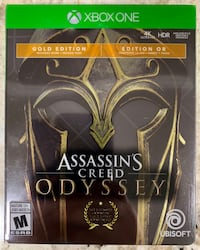 Assassin's Creed Odyssey XBOX ONE Steelbook Edition  King City, L7B 1L1