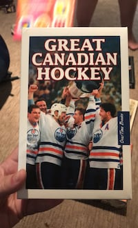 Great Canadian Hockey Book Set