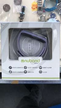 purple nuband activ activity tracker in box Bolingbrook, 60440