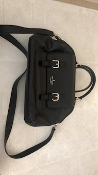 Kate spade black handbag for sell 艾德蒙頓, T6W 1M3