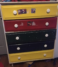 Kids dresser ! Can be easily repainted any color  Lake Charles